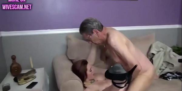 Amateur Licking Cum Off Cock